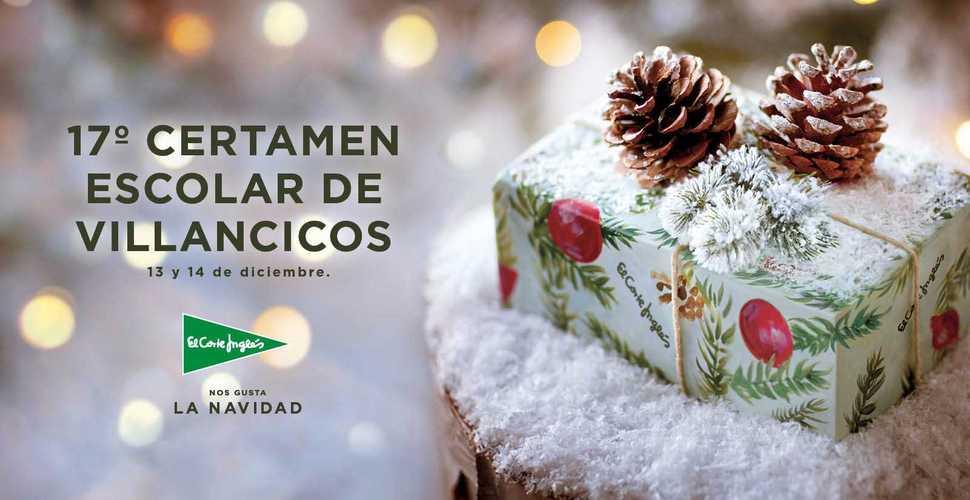 El colegio Mayco participa en el 17º Certamen de Villancicos de El  Corte Inglés