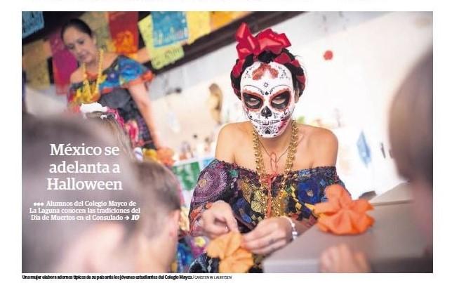 Mayco en la portada de El Día