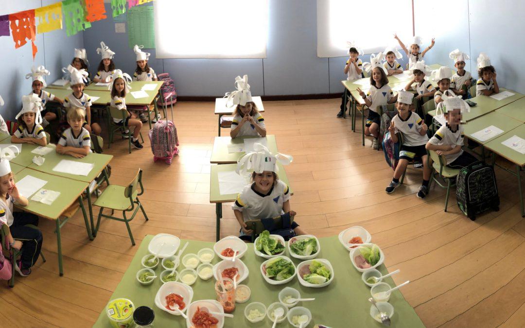 Cooking Fajitas – 1st Grade