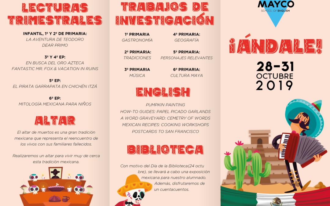 """Información – Semana Cultural """"Ándale"""""""