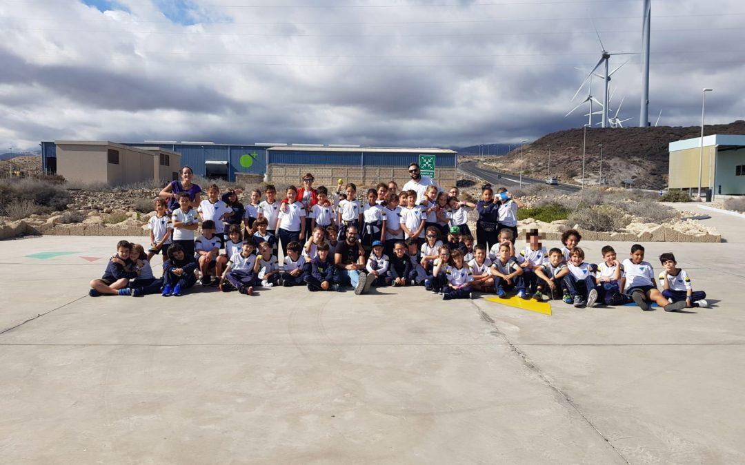 Visita al Complejo Ambiental de Tenerife
