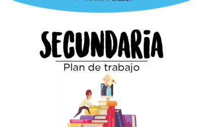 SECUNDARIA – Plan de trabajo