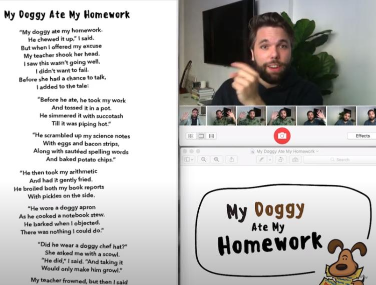 My Doggy Ate my Homework – Johnny
