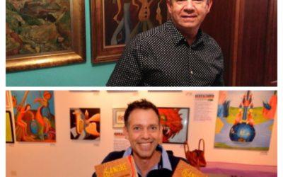 DÍA DEL LIBRO con Carlos González Sosa y Juan  F. Santana Domínguez